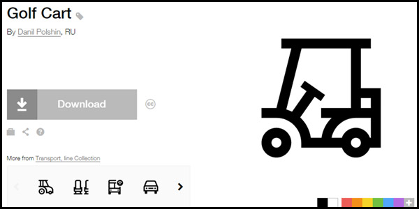 Golf Cart - The noun project